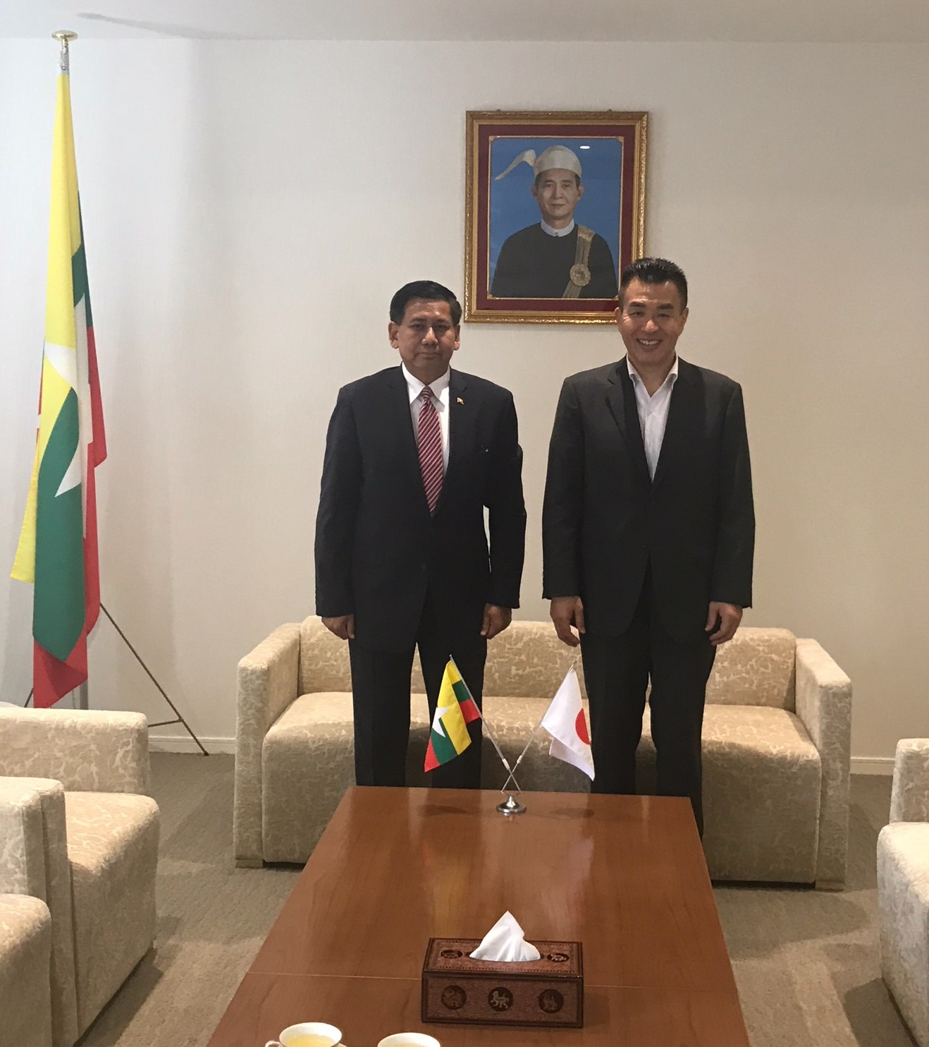 ミャンマー 大使 館