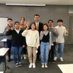 仙台で奨学生との面談会 (12/21)
