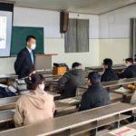 熊本の専門学校で、奨学金セミナー (12/8)