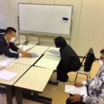 岡山で奨学生との面談会 (12/3)